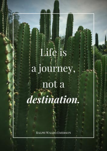 Life isa journey,not a